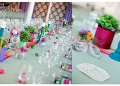 colourful wedding,  makes the difference!