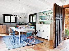 Murales viva río amor cita hechizo cocina salón recibidor pasillo
