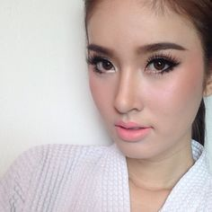 nongchat | webinstgrm.com - online web interface for instagram #makeup #thailand #asian