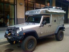 Jeep camper would be awesome for weekend fishing trips