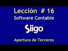 500. Lección #16  Catálogo de Terceros_Software Contable SIIGO