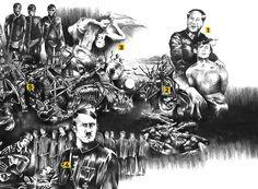 – (Samuel Ienzi/Carpintaria Estúdio)10) TODOS SÃO SUSPEITOSONDE CambojaQUANDO De 1975 a 1979TOTAL DE MORTOS 1,7 milhãoEm apenas quatro anos, o ditador Pol Pot (1925-1998), acabou com 20% da população …
