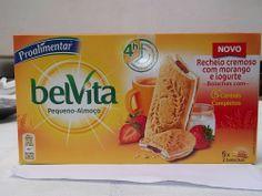 Cinco sentidos na cozinha: Novas bolachas Proalimentar Belvita com recheio de...