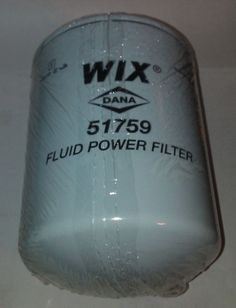 WIX Filters Pack of 1 51164 Heavy Duty Cartridge Fuel Metal Canister