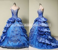 Nice Quinceanera Dresses Luxury Ball Gown Quinceanera Dress Exquisite Embroidery Beading V-neck Spaghetti Straps Prom Dress Fine Tulle with Taffeta Sweet 16 Dress Check more at http://24store.tk/fashion/quinceanera-dresses-luxury-ball-gown-quinceanera-dress-exquisite-embroidery-beading-v-neck-spaghetti-straps-prom-dress-fine-tulle-with-taffeta-sweet-16-dress-2/