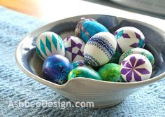 Duct Tape Decorated Easter Eggs...