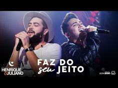 Henrique e Juliano - FAZ DO SEU JEITO - DVD O Céu Explica Tudo - YouTube Dvd, Shows, Videos, Youtube, Concert, Music Is Life, Love Life, Concerts, Youtubers