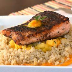Salmon recipies on Pinterest | Salmon, Jerk Salmon and Roasted Salmon
