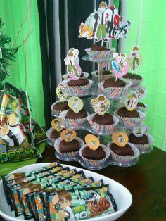 Ben10 Cupcake Topper & Ben10 ChocoButter Cookies