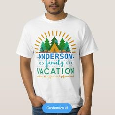 """Family Vacation Funny Camping Trip 