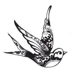 Id like to get two swallows on my other foot to represent my girls. A swallow always returns home safe....