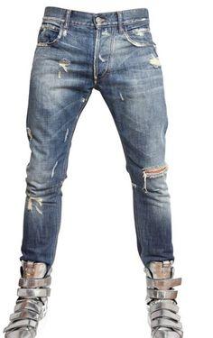 Designer Denim Jeans for Men | Dsquared Stylish Destroyed Jeans  ...