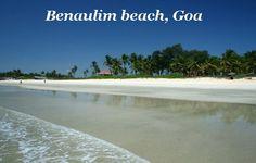 Beanaulim beach Goa India
