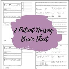 Med Surg Nursing, Keep Track, As You Like, Assessment, No Response, Brain, Fill, Words, Business