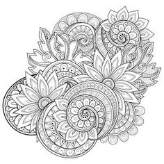 Coloring isn't just for the kids; check out these free advanced flower coloring pages, and find out for yourself! Adult coloring books: