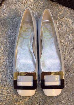 Roger Vivier Belle Vivier Color Block Ballerina Nude Roger Vivier Shoes, Shoe Box, Ballerina, Nude, Flats, Closet, Color, Fashion, Purses