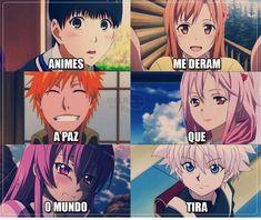 E é por isso que eu amo anime <3 Anime Meme, Otaku Anime, Naruto Anime, Anime Chibi, All Anime, Kawaii Anime, Manga Anime, Manga Girl, Anime Stuff