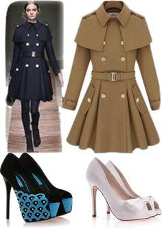 """fashion sheep coat"" by jinyinglai on Polyvore"
