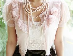 Shabby chic in the clothes