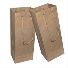 541da9931 12 melhores imagens de Sacola de papel kraft | Paper packaging ...