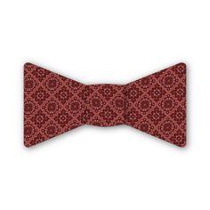 Gilded Medallion Bow Tie