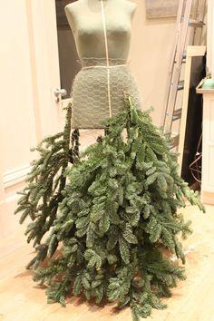 Making a fir dress