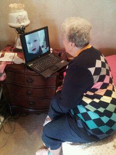 Format, update, reinstall drivers,  fix WiFi, add camera, add Skype : smiling Grandma in California seeing great grandchildren in Michigan