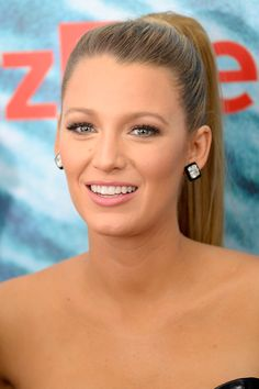 Blake Lively party hairstyles