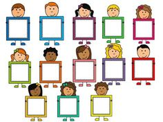Classroom Labels, Classroom Displays, Classroom Decor, Pre School, Sunday School, Back To School, Art Drawings For Kids, Art For Kids, School Frame