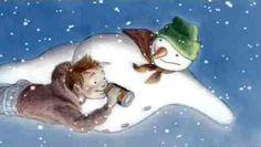 Iron Bru Snowman flying