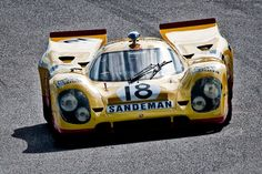 1970 Le Mans 24 Hours Porsche 917 K #021 - Porsche 912 F12 2v DOHC 4494 cc Driven by: Gijs van Lennep (NL)David Piper (GB)