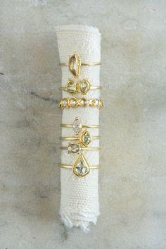 Tura Sugden Diamond Cut-Away Eternity Band Green Diamond Rings, Rough Diamond, Rose Cut Diamond, Silver Rings, Modern Jewelry, Fine Jewelry, Unique Jewelry, Silver Jewelry Cleaner, Brilliant Diamond