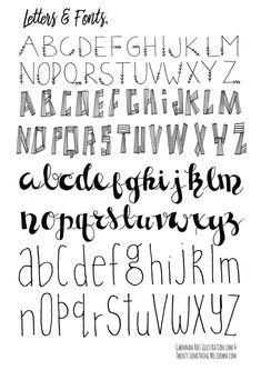 May 14 FREE Bullet Journal Printables. - Fonts - Ideas of Fonts - Free Bullet Journal Printables from Twenty Something Meltdown Hand Lettering Fonts, Doodle Lettering, Creative Lettering, Lettering Styles, Handwritten Fonts, Block Lettering, Bullet Journal Font, Journal Fonts, Bullet Journal Printables