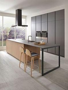 дневник дизайнера: Абсолютный минимализм и максимальный комфорт кухни Serie 45