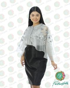 HAND PAINTED CAPE BLOUSE MADE IN LUMBAN LAGUNA   #CAPEBLOUSE #HANDPAINTEDCAPE #MODERNFILIPINIANA #FILIPINIANA #TERNO  #HANDPAINTEDBARONG #HANDPAINTEDCAPEBLOUSE #FORMAL #FILIPINO ATTIRE