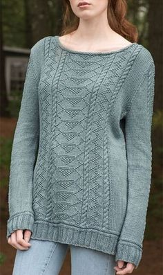 Free Knitting Pattern for Carra Sweater