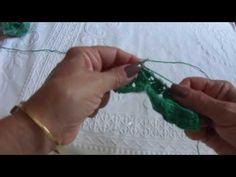 Furinhos de Pontos Rematados em tricô