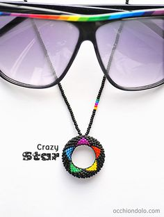 here it is: spec-holder #necklace Occhiondolo Crazy #Star! :)
