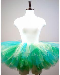 Shamrock Green Adult Tutu: Green Teen Tutu: St Patricks Day Adult Tutu: Dance Green Adult Tutu: Tutus for Women