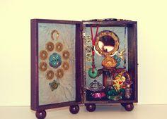 Feng Shui Money box altar by Chaska Peacock