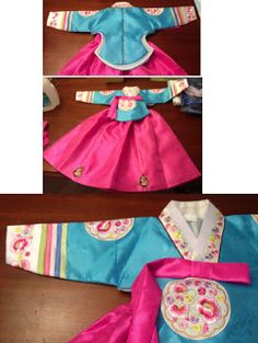 Beautiful girl's #Hanbok