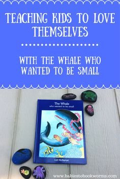 Teach kids to see their differences in a positive light with this fun read aloud!  Whale Books | Story Stones | Story Retelling | Shape Sorting | Ocean Books