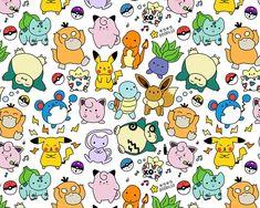Cute Pokemon Doodle Art Print by KiraKiraDoodles on Etsy Disney Doodles, Kawaii Doodles, Cute Doodles, Doodle Drawings, Cartoon Drawings, Easy Drawings, Cute Doodle Art, Cute Art, Ghibli