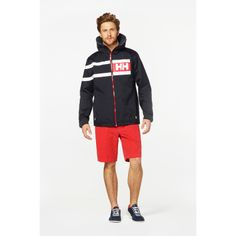 The Salt Power jacket is great for sailing, the rain, or just everyday wear!