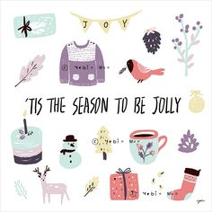 joy, birds, present, gift, cake, snowman, Christmas accessories, festive decorations, Christmas decorations