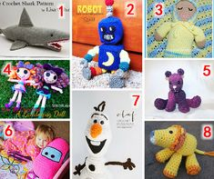 Share this:  Crochet Toys Round Up!  With Christmas coming I thought it would be a great idea to share some ideas for gifts for the little ones in your life. Check out these 8 free patterns that are sure to please any girl or boy.  This page contains affiliate links  1: …