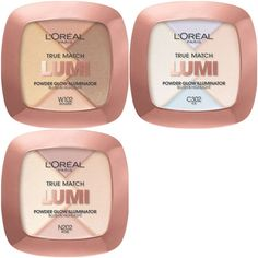 L'Oreal True Match Lumi Powder and Liquid Glow Illuminator Launches