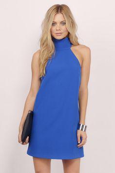 bbbd9fb6a7fe Remi High Neck Shift Dress Fashion Tips