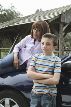 Still of Patricia Heaton and Atticus Shaffer in The Middle (2009)