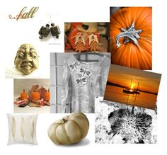 """Hello Fall"" by twosaddonkeys on Polyvore featuring картины"